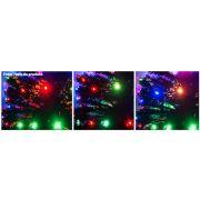 �rvore de Natal 1,80 Mts. com Fibra �tica - 220 Galhos e Leds Coloridos - Magazine Legal