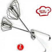 Batedor Manual Mixer Better Beater kit 2 pe�as MMX-10