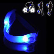 Bra�adeira Sinalizador Noturno Safe light Led Azul CBRN0081