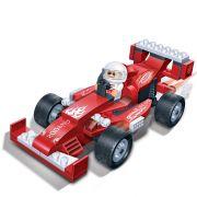 Brinquedo Carro de Corrida Drag�o 102 Pe�as em Blocos de Montar CBRN0906