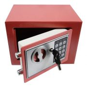 Cofre Eletr�nico Digital A�o c/ 2 Chaves Goiaba CBR1061