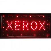 Placa Led Quadro Letreiro Luminoso Decorativo Xerox 1618