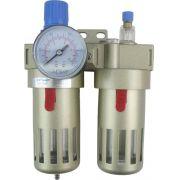 Filtro Regulador e Lubrificador de Ar 1/2� - BEFC4000