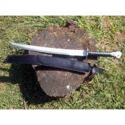 Faca Espada M8 Cabo de Couro - Frete Gr�tis