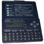 Agenda Eletr�nica Casio SF2000 para 130 telefones, visor 12 d�gitos