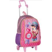 Mochila Mdia com Rodinha Judy 13Y - Sestini
