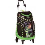 Mochila Grande com Rodinha Max Steel 13Z c/Luz - Sestini