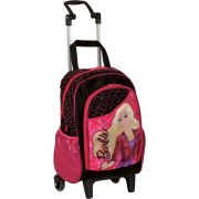 Mochila Grande com Rodinha Barbie 13Z - Sestini