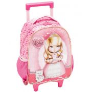 Mochila Mdia com Rodinha Jolie Royalty - Pacific