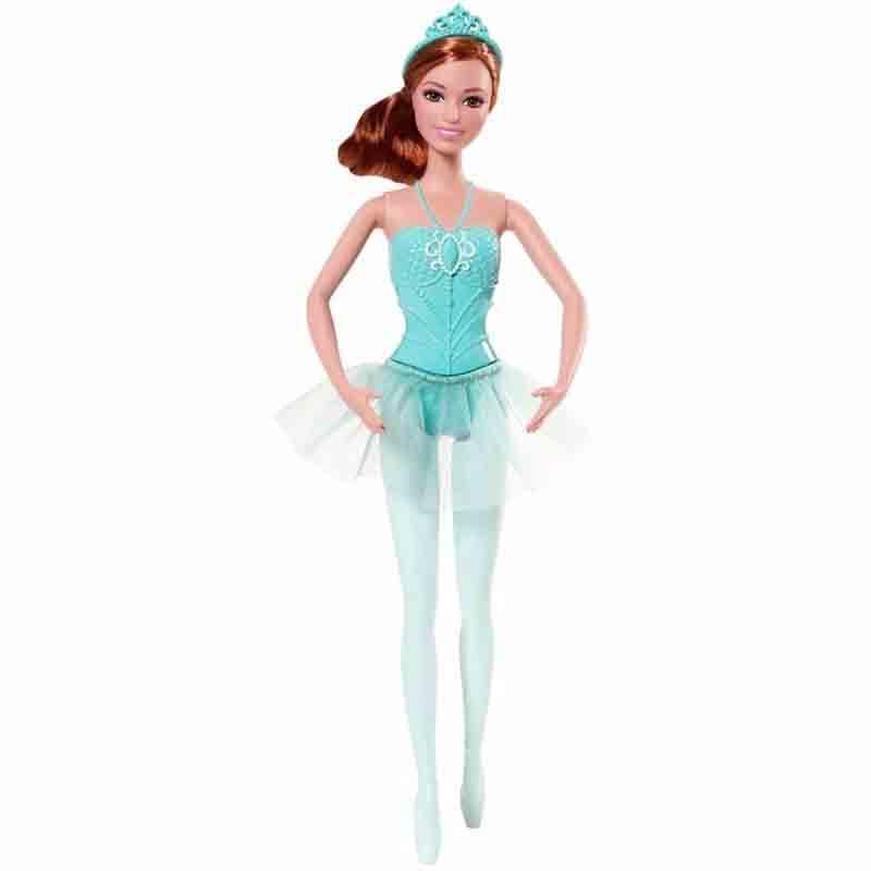 Boneca Barbie Bailarinas Verde - Mattel