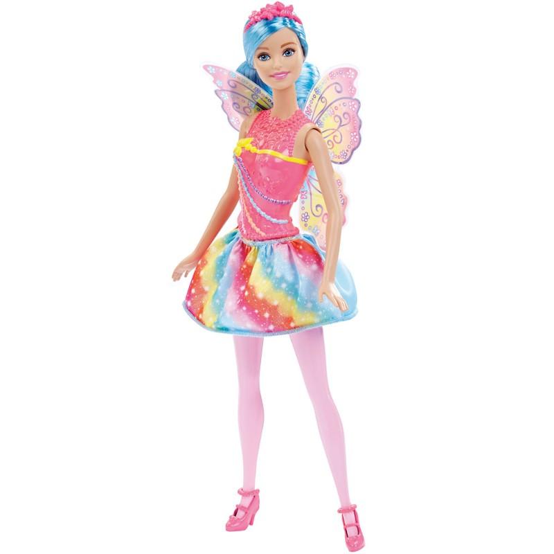 Boneca Barbie Reinos M�gicos Fada do Reino dos Arco-�ris - Mattel