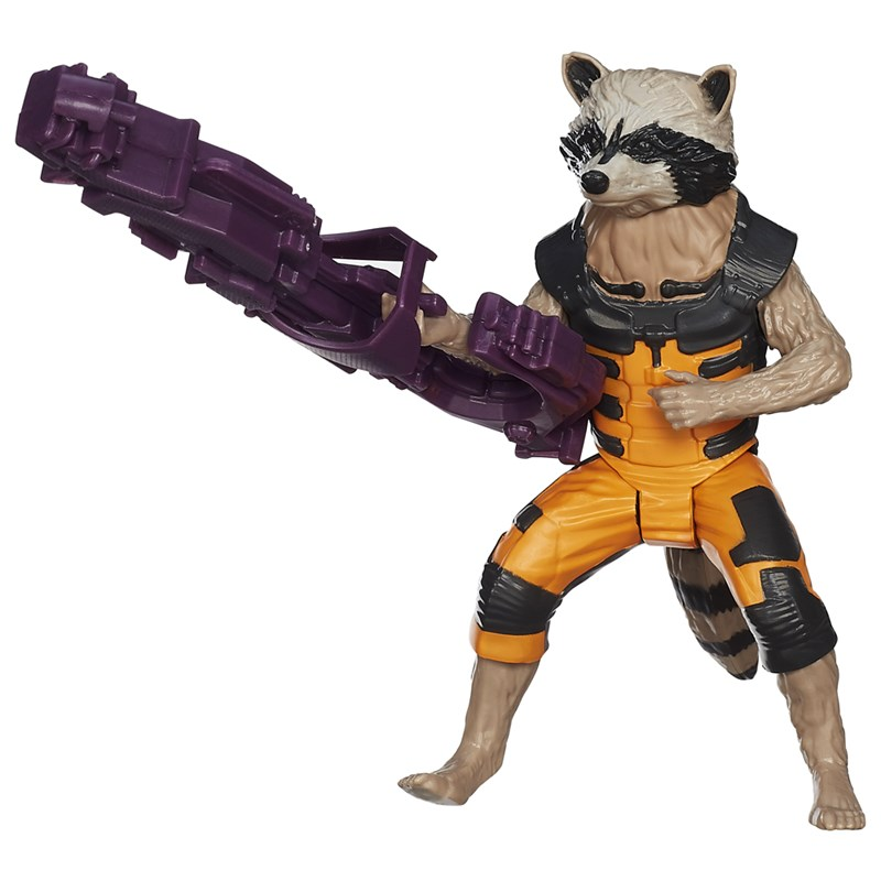 Boneco Guardi�es da Gal�xia Titan Hero Rocket Raccoon - Hasbro