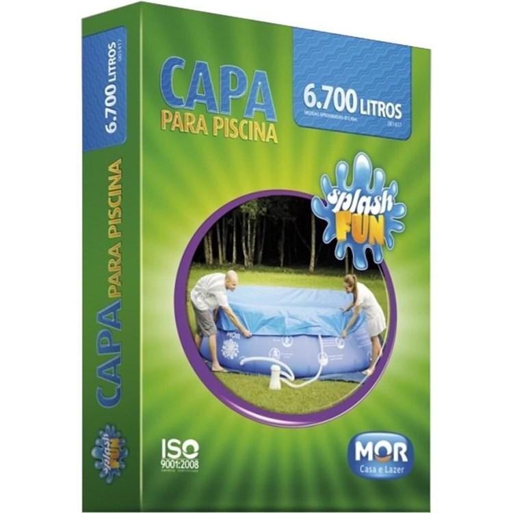 Capa para Piscina Infl�vel Splash Fun 6700 e 7800 Litros - MOR