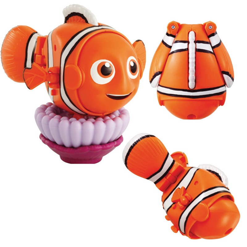 Mini Boneco Hatch'N Heroes Disney Nemo - DTC