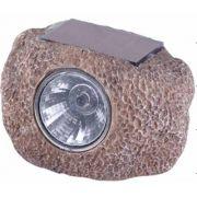 Lumin�ria Pedra com Painel Solar Led