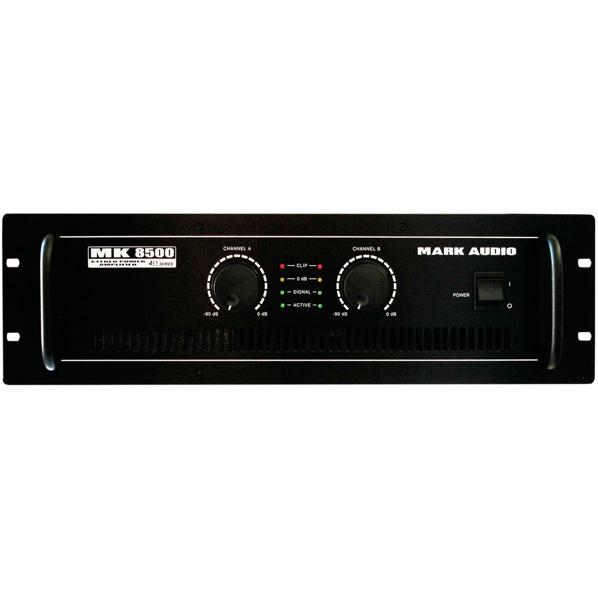 MK8500 - Amplificador Est�reo 2 Canais 1500W MK 8500 - Mark Audio