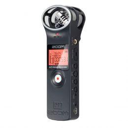 H1 - Gravador Digital de �udio Preto H 1 - Zoom