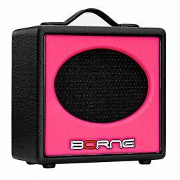 GS60 - Amplificador Combo p/ Guitarra 20W Stilo GS 60 Rosa - Borne