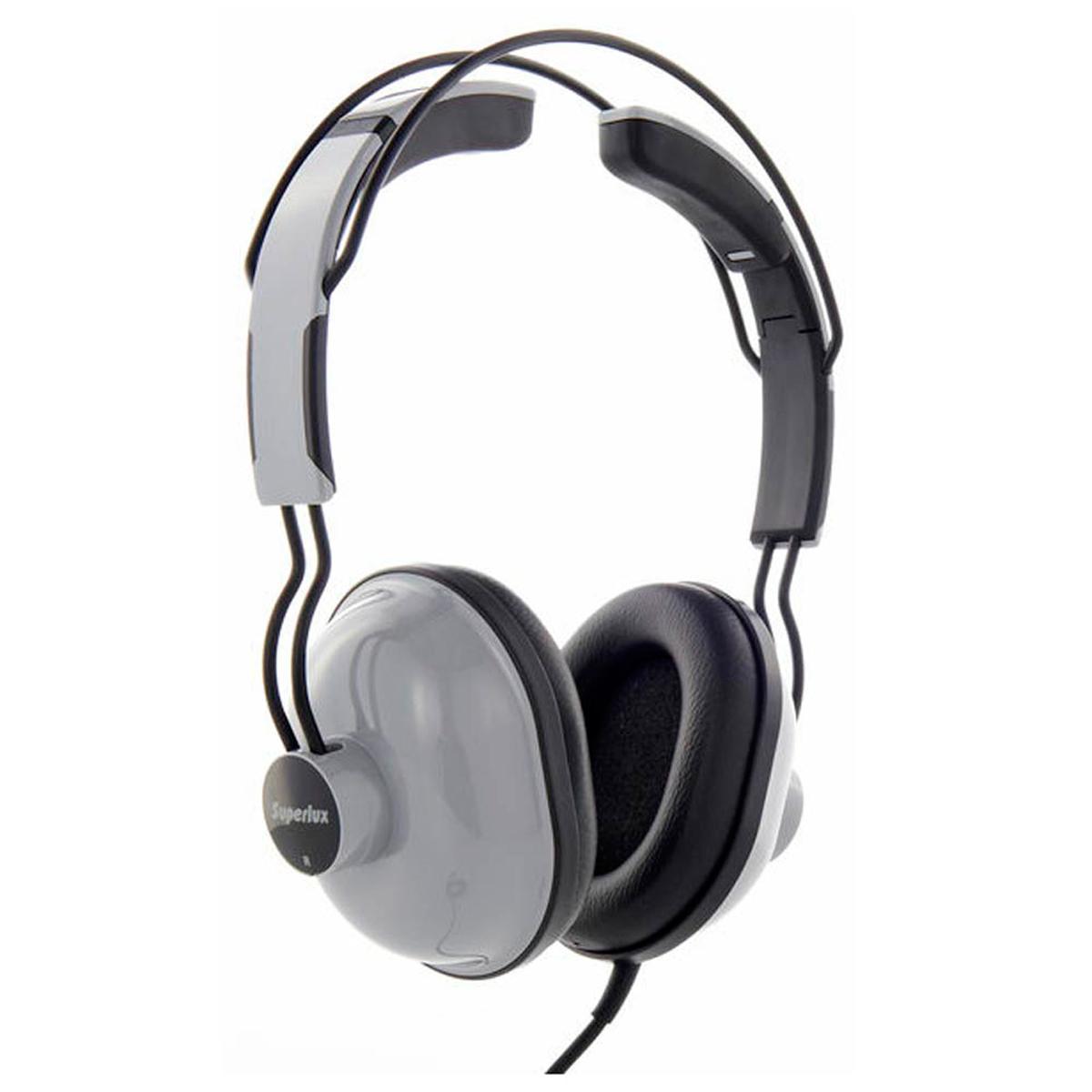 HD651 - Fone de Ouvido On-ear Cinza HD 651 - Superlux