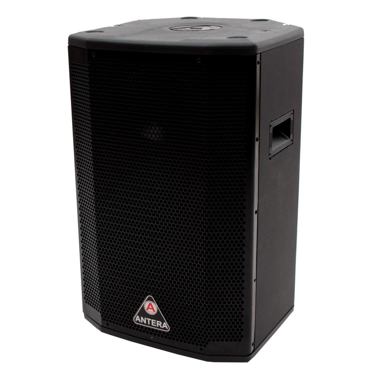 SC15A - Caixa Ativa 200W Preta c/ Player USB SC 15A - Antera