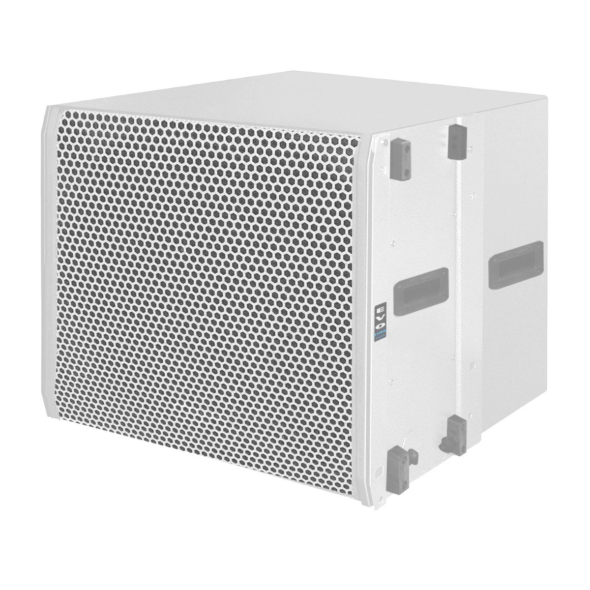 OLS1018 - Subwoofer Ativo Line Array 600W OLS 1018 Branco - Oneal