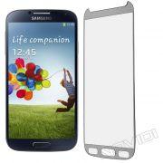 Pel�cula de Vidro Temperado Premium Glass com Bordas para Samsung Galaxy S4 I9500 - Cor Prateada