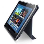 Capa estojo com suporte para Samsung Galaxy Note 10.1 N8000 / N8010 - Samsung EFC-1G2NGECSTD - Cor Cinza