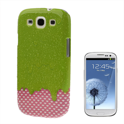 Capa Personalizada Ice Cream Drops para Samsung Galaxy S3 S III i9300