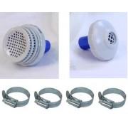 Kit Conex�o Bomba Filtrante Intex 2006 3785 Filtro Conex�es - GIFTCENTER