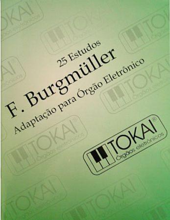 M�todo F. Burgmuller Adaptado para �rg�o Eletr�nico - 25 Estudos