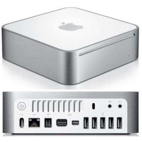 Mac Mini Usado, Revisado, Perfeito. Apple A1176 Intel Core 2 Duo 1.83, 80.0 GB, 4 gigas, CD, Wifi, Bluetooth, 4 USBs.