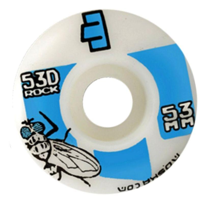 Roda Moska 53 mm - Branca