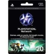 Carto PSN $20  - FastGames - Gamers levados a srio