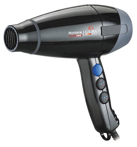 Secador de Cabelo Profissional Gama Italy Mystere 3300 - Ceramic Ion 1700w - Preto