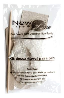 Kit Descartvel para Ps com Protetor de Bacia New Line - 50 uni.