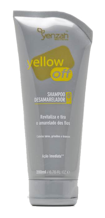 Shampoo Desamarelador Yellow Off 200ml - Yenzah