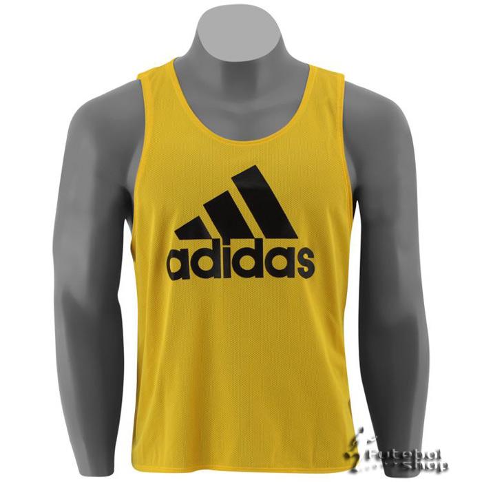 Jogo de Coletes Adidas Treino 10 Pe�as Amarelo - 336884