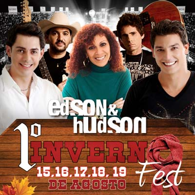 Christian & Cristiano+Edson & Hudson+Ftima Leo - 17/08 - Getulina - SP  - TK INGRESSOS