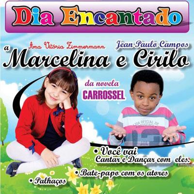 Marcelina e Cirilo do Carrossel - 09/03/13 - Marília - SP  - TK INGRESSOS