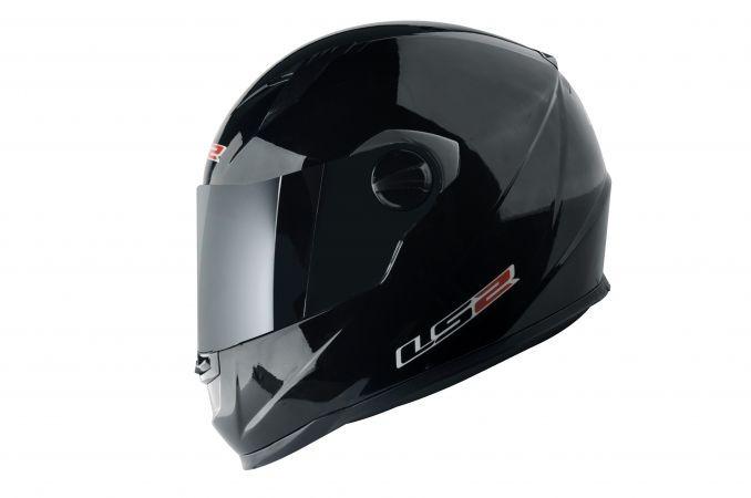 CAPACETE LS2 FF358 MONO BLACK