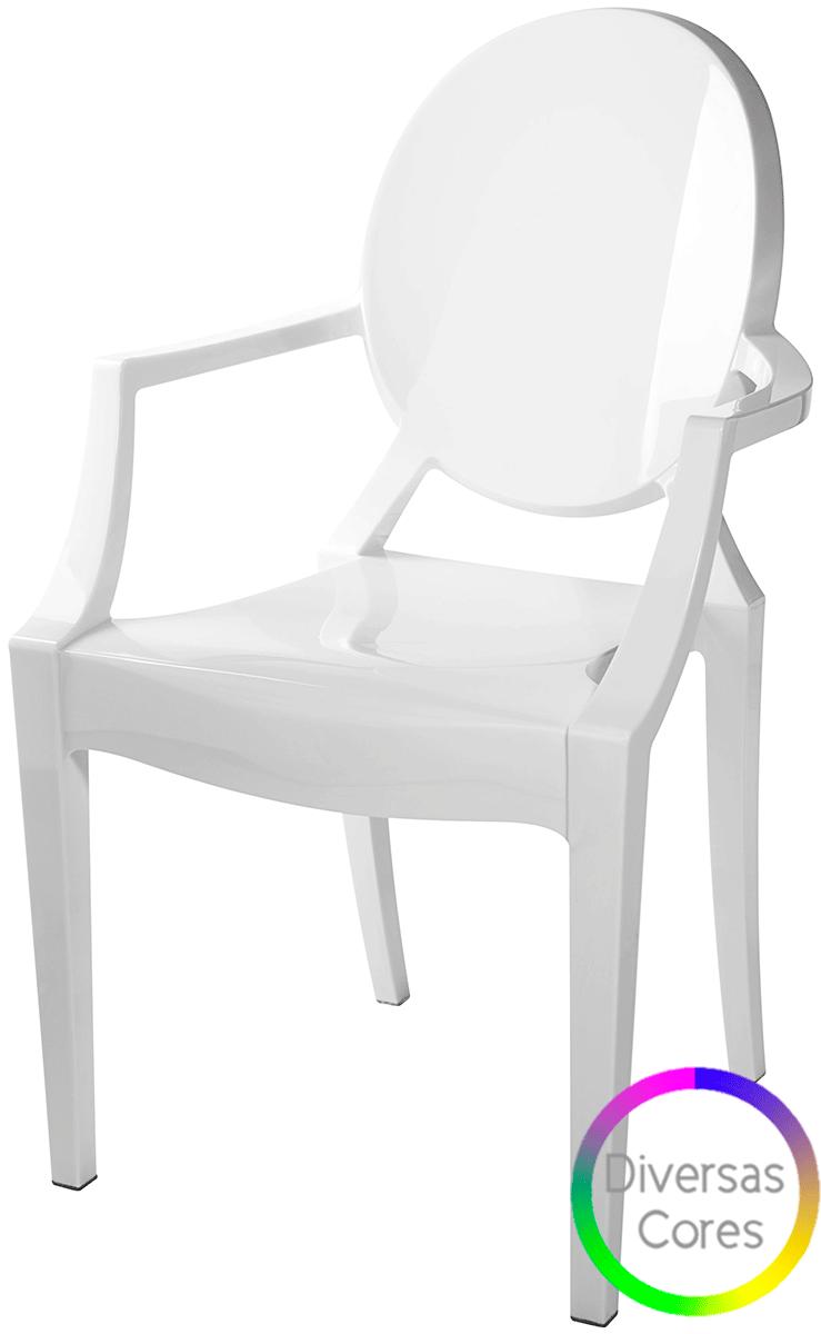 Cadeira Ghost com Braco