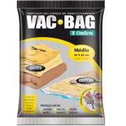 Saco A V�cuo Protetor e Organizador - VAC BAG 45 X 65 - M�dio