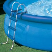 Escada Dupla Intex 3 Degraus 107 Piscina Infl�vel Estrutural