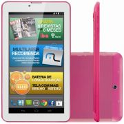 Tablet Multilaser M7 NB164 3G Wi-Fi Android 4.4 1.2GHz 8GB Rosa