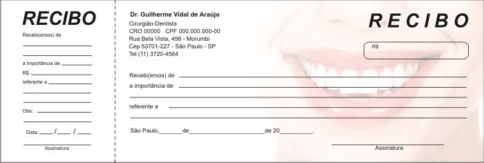 Recibo com Canhoto - Ref. 2700