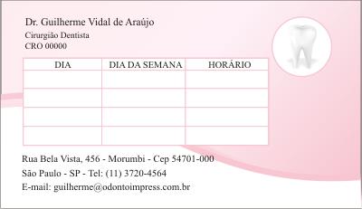 Cart�o de Retorno - Ref. 2007