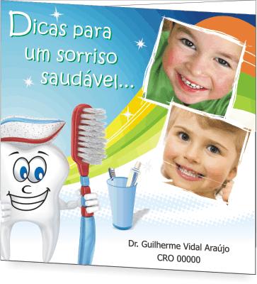 Folder SA�DE BUCAL PEDIATRIA - Ref. 2201