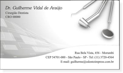 Cart�o de Visita Premium - Ref. 0999