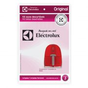 Kit Saco Descartavel NANO 03PCS - ELECTROLUX