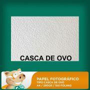 Papel Fotogr�fico Tipo Casca de Ovo 260gr A4 100 Folhas